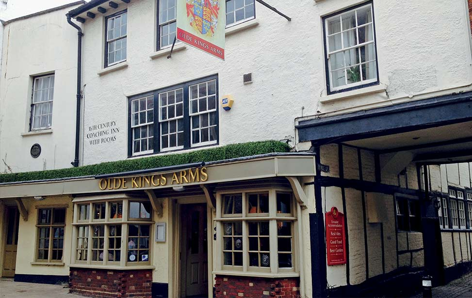 The Olde Kings Arms - case study